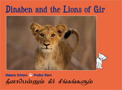 Dinaben and the Lions of Gir_eng-tamil_cover.pmd