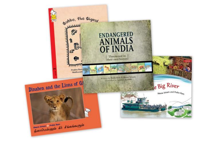 India-Books-Collage
